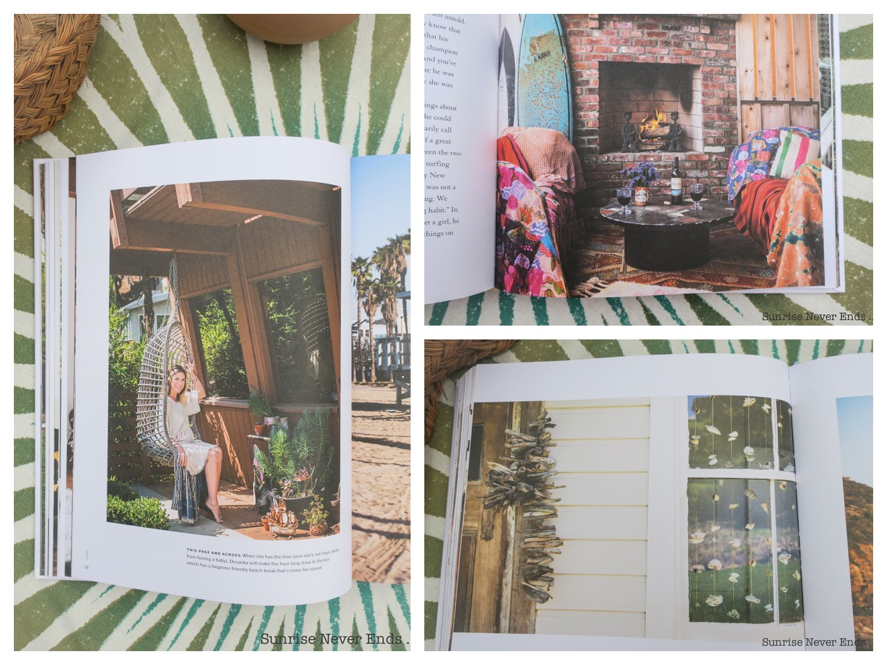 surf shack,book,livre,décoration,gypsy,gypsea,inspiration,nina freudenberger,interior design,beach shack,beach life,a beachy life