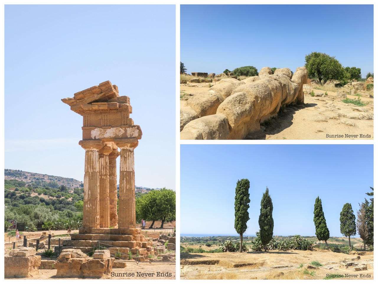 temples,grecs,byzantins,arabes,agrigente,vallée des temples,sicile,italie,sicilianroadtrip,travel,voyage,antiquités,méditerranée,