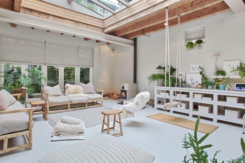 loft,appartement,decoration,déco,amsterdam,tini K,volume atypique,grands espaces,espace industriel,rénovation