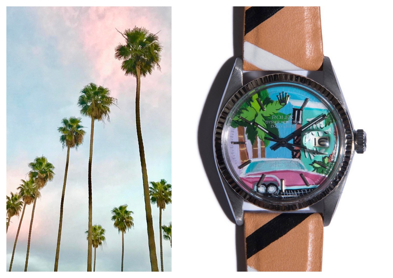 montres,watches,la californienne,vintage,custom,upcycling,rolex,cartier,tank,californie,mode,accessoires de mode