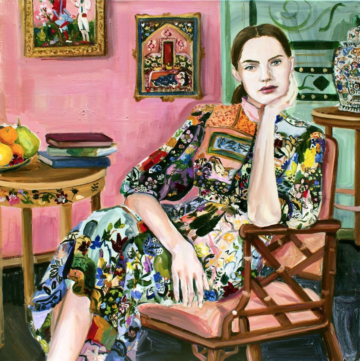 laura gulshani,illustratrice,dessins,peinture,art,mode,fashion,backstages,fashion shows,toronto