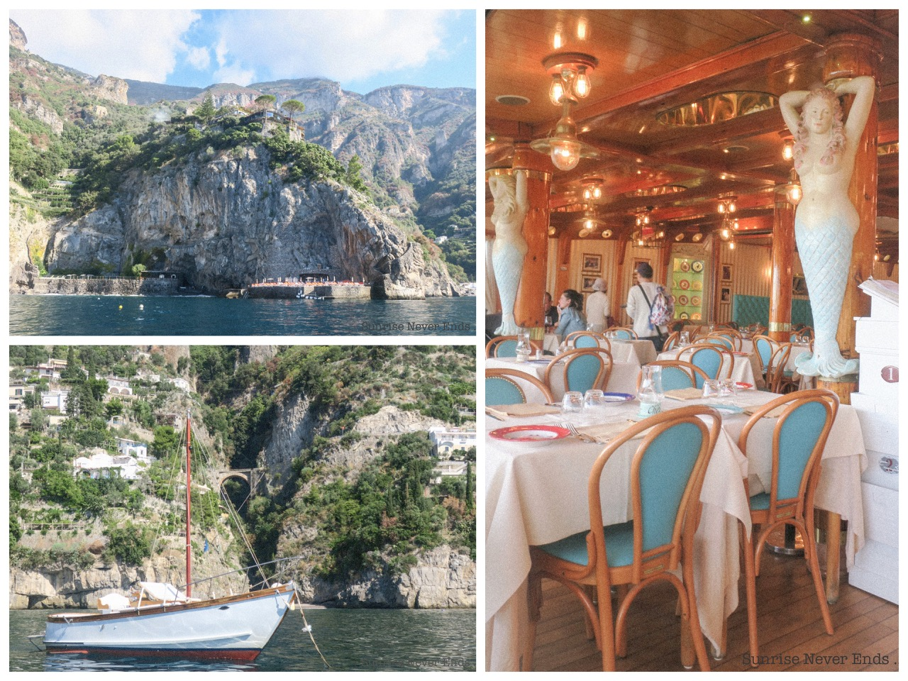 position,cote amalfitaine,italie,boattrip,anitalianboattrip,travel,travel guide,travel blogger,city guide,voyages,adresses,chez black, da adolfo,ferdinando,la zagara,la caravella,hotel,restaurant,plage privée