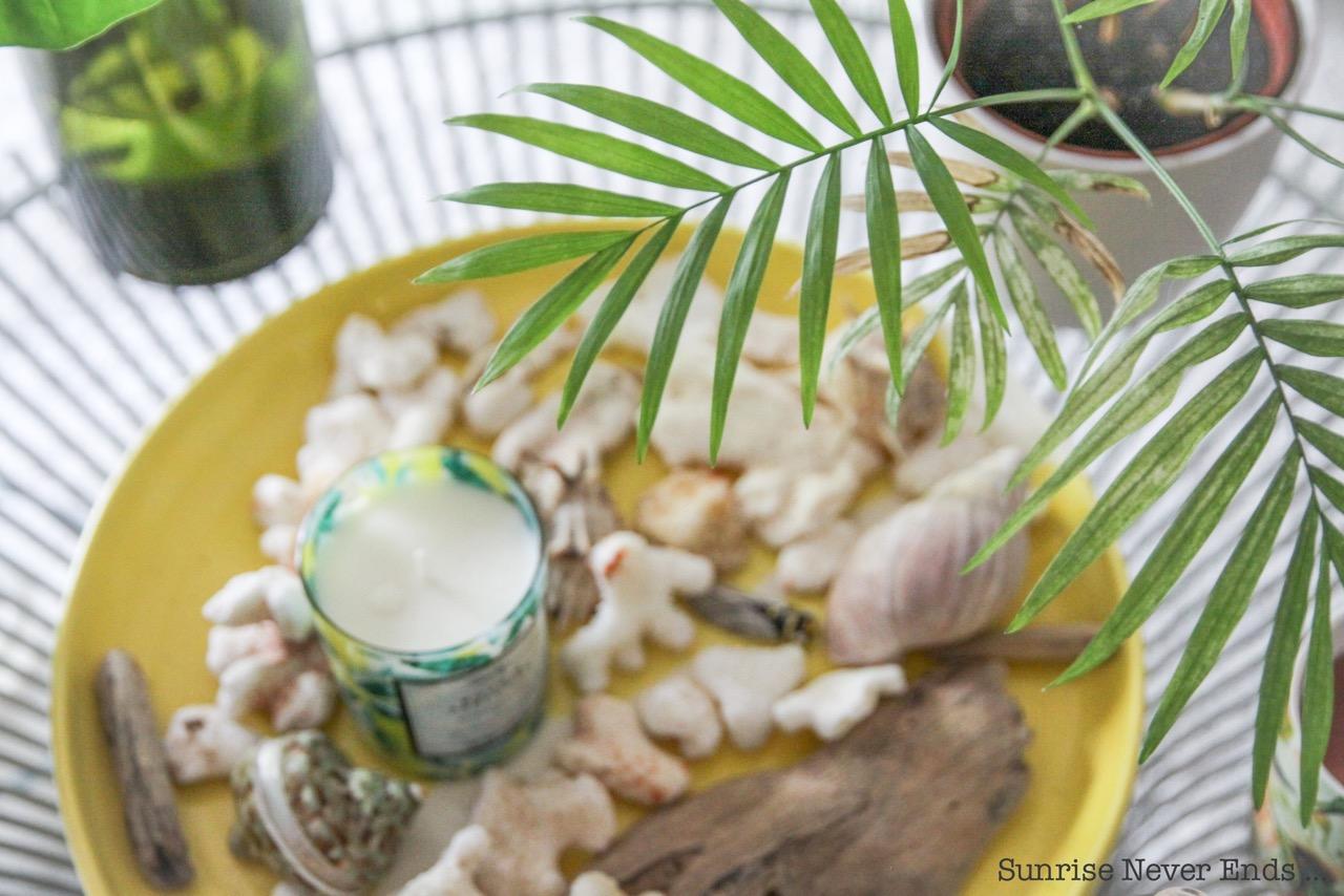 home sweet home, villa la boheme, intérieur,décoration,déco,inspiration,bougie,parfum d'intérieur,bougie parfumée,tropical mood,jaune,vert,mid-century,vintage,gypset living