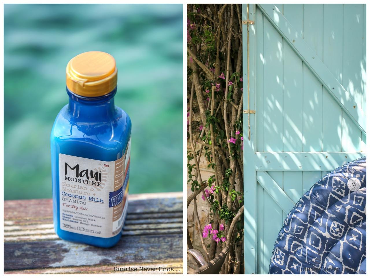 beauté,beauty,shampoo,conditioner,coconut,noix de coco,shampoing,maui moisture,coconut oil,l'atelier des dames,bijoux,presqu'ile de giens,giens,hotel le provençal,méditerrannée