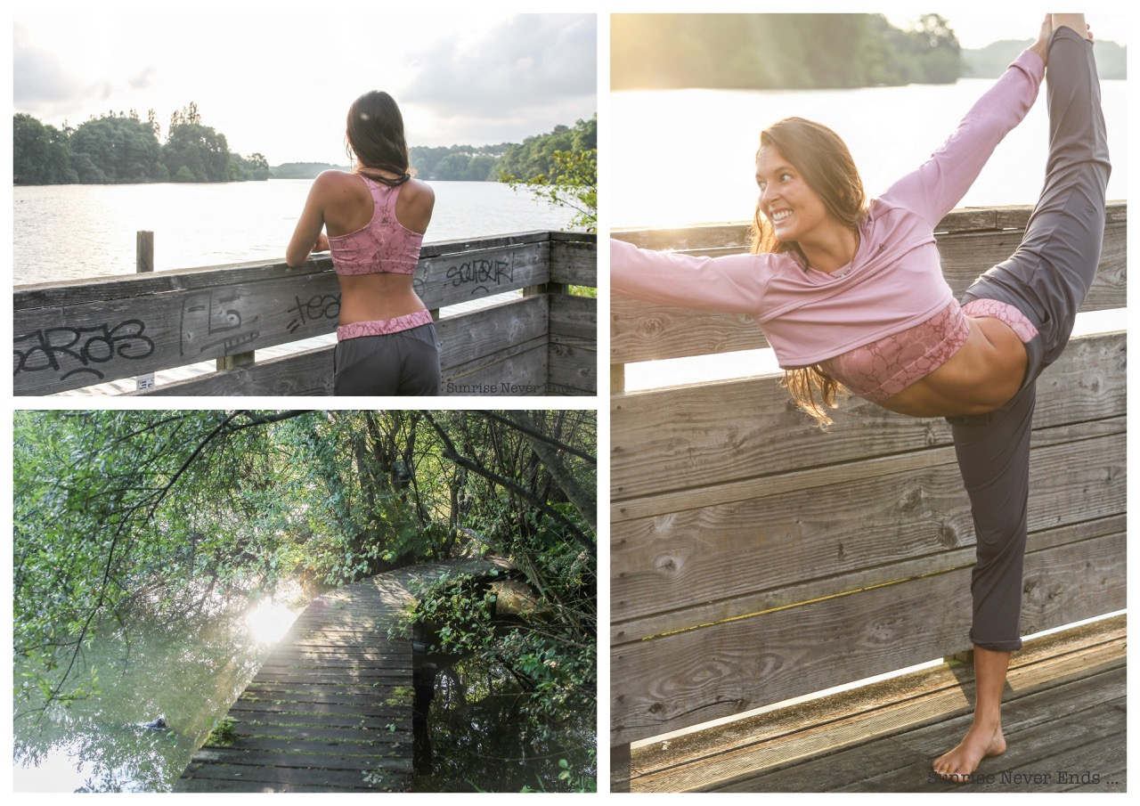 morning bliss,yoga,seignosse,seignosse tourisme,étang noir,healthy lifestyle,emma champion,emma yoga,feelseignosse,odlo,landestyle,nature,mouvement,wellness