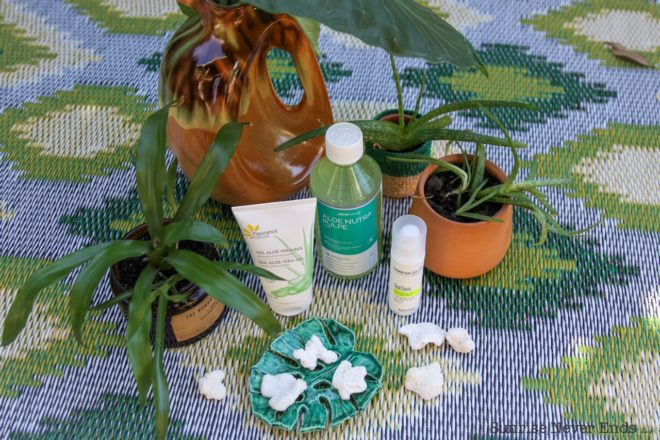 aloe vera,green,i love green,beauty,beauté,cosmétiques,bio,plantes,phytothérapie,dermaceutic,laboratoires aragan,fleurance nature,sigg,gourde,pulpe fraiche d'aloe vera