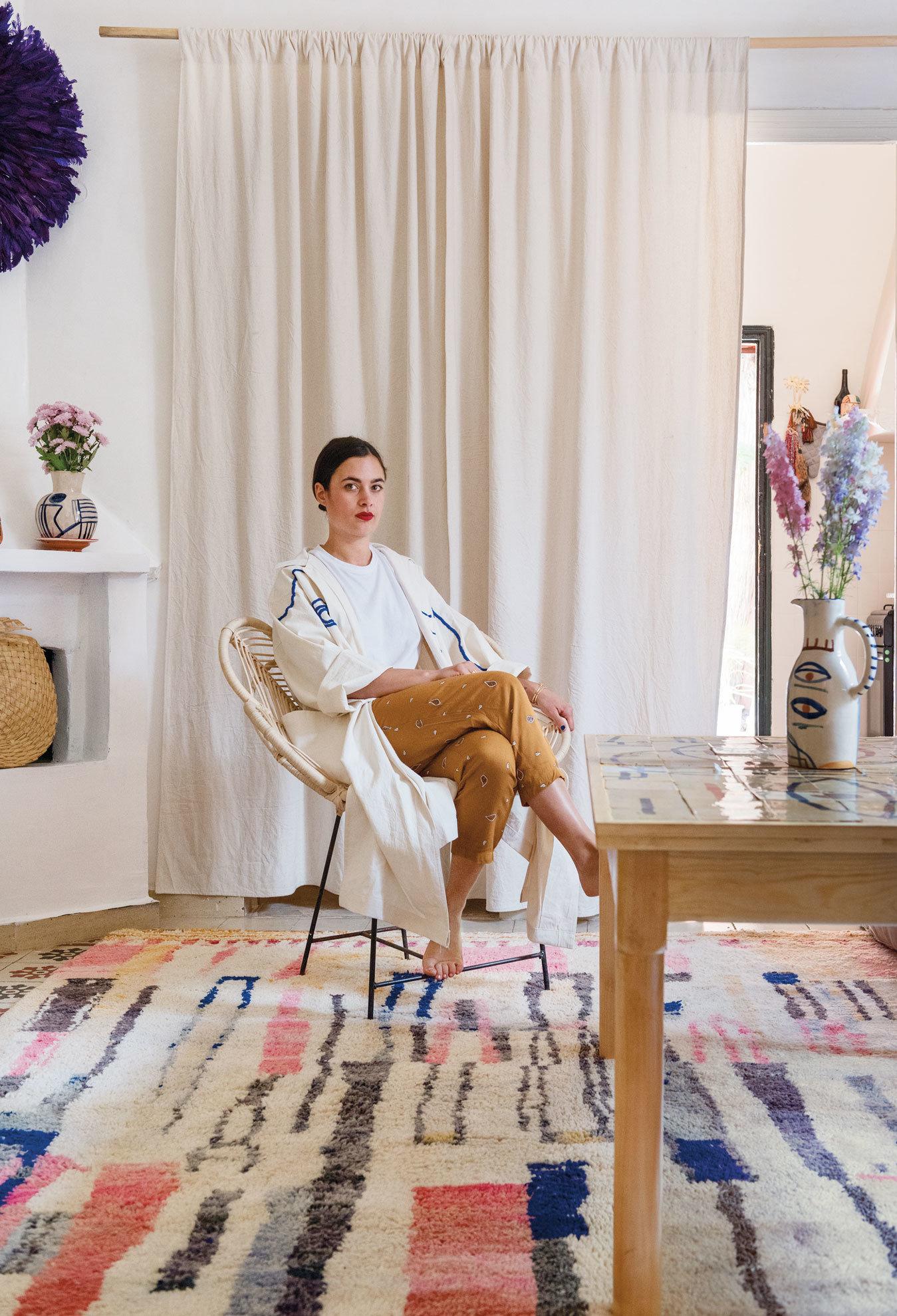 décoration,maroc,marrakech,Lrnce,New York Times Magazine,laurence Leenaert,tapis,céramiques,créatrice