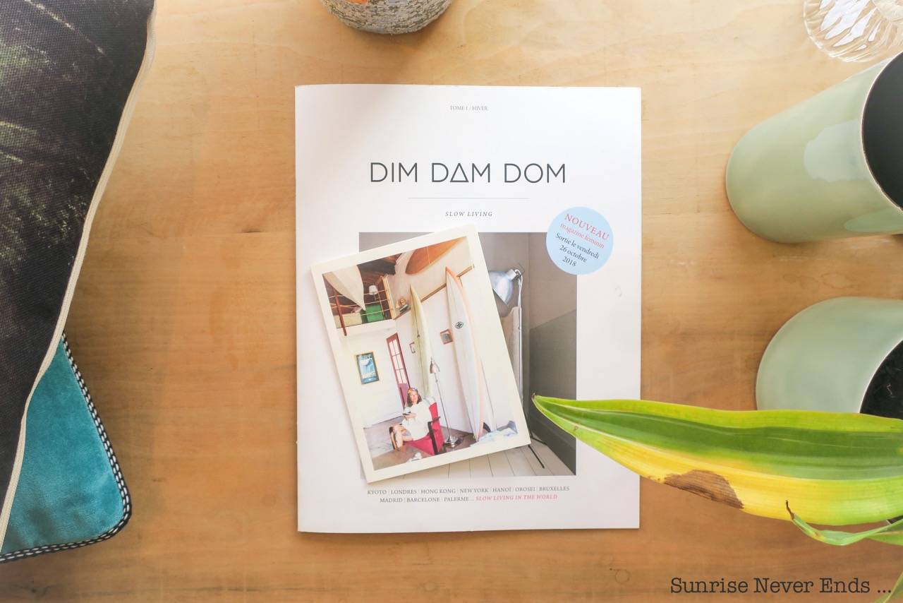 dim dam dom,magazine,photo,photographe,slow living,magazine féminin,presse,papier,idea,the good life,fake cover,cover,lancement