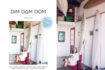 dim dam dom,magazine,photo,photographe,slow living,magazine féminin,presse,papier,idea,the good life,fake cover,cover,lancement