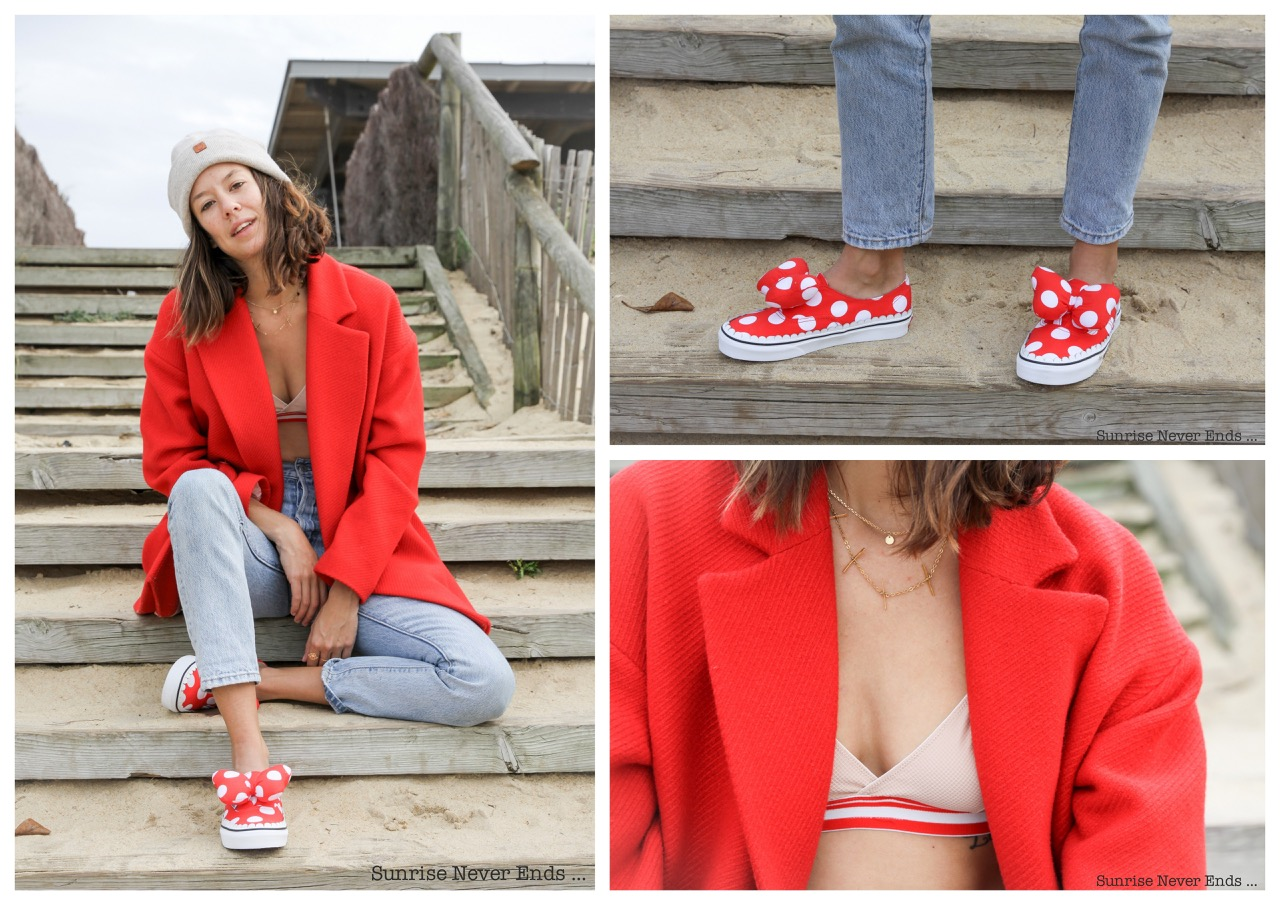 minnie,anniversaire,birthday,mickey,walt disney,vans,shoes,chaussures,ines,albertine,lingerie,underwear,bensimon,manteau,fashion