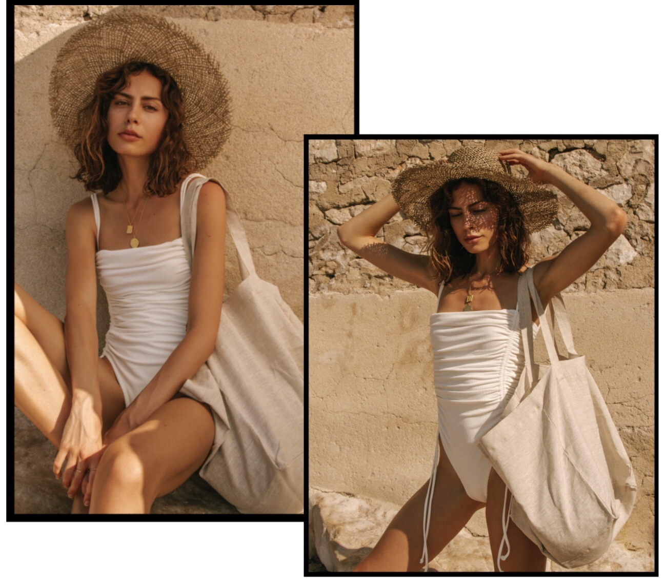 the beach people,plage,beach,beach towels,cassis,ali woolley,jessica ruscoe,lookbook,ss19,draps de plage