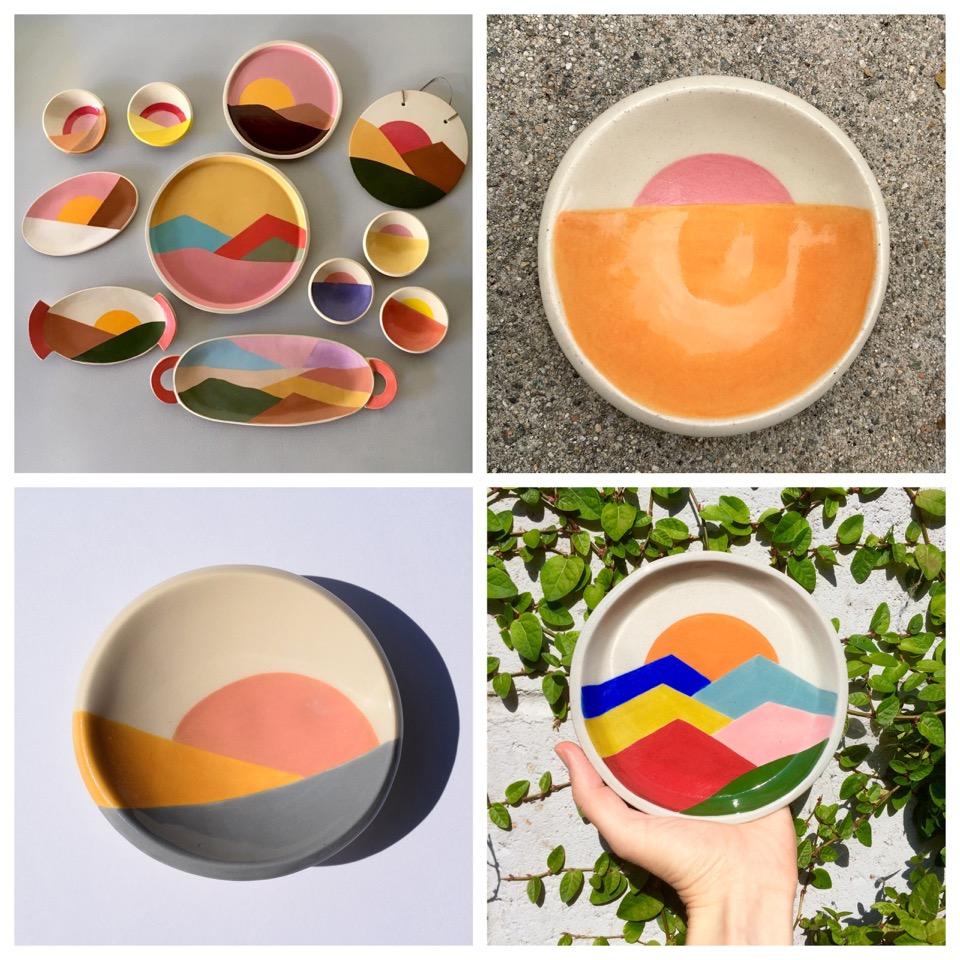 céramiques,californie,états-unis,los angeles,pauline wolstencroft,art,ceramics,artist