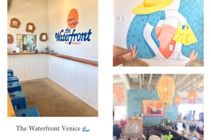 the waterfront venice,venice beach,los angeles,californie,aliceetfantoette,aliceetfantometteencalifornie,restaurant,good spot,travel,voyages,travel guide