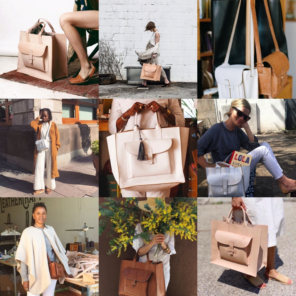agnes baddoo,sac,loas angeles,cuir,leather,cabas en cuir,cabas en toile,,handmadebag,handbags,totebag,california,californie,belt bag,fashion,fashion crush,accessoires