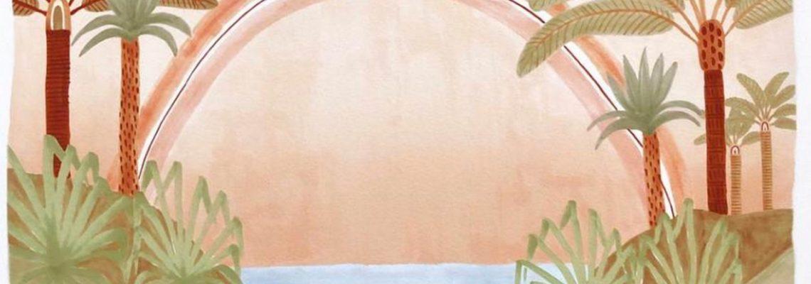 karina jambrak,dessin,illustration,peinture,artiste,australie,palmiers,jungle,aquarelle,feutres