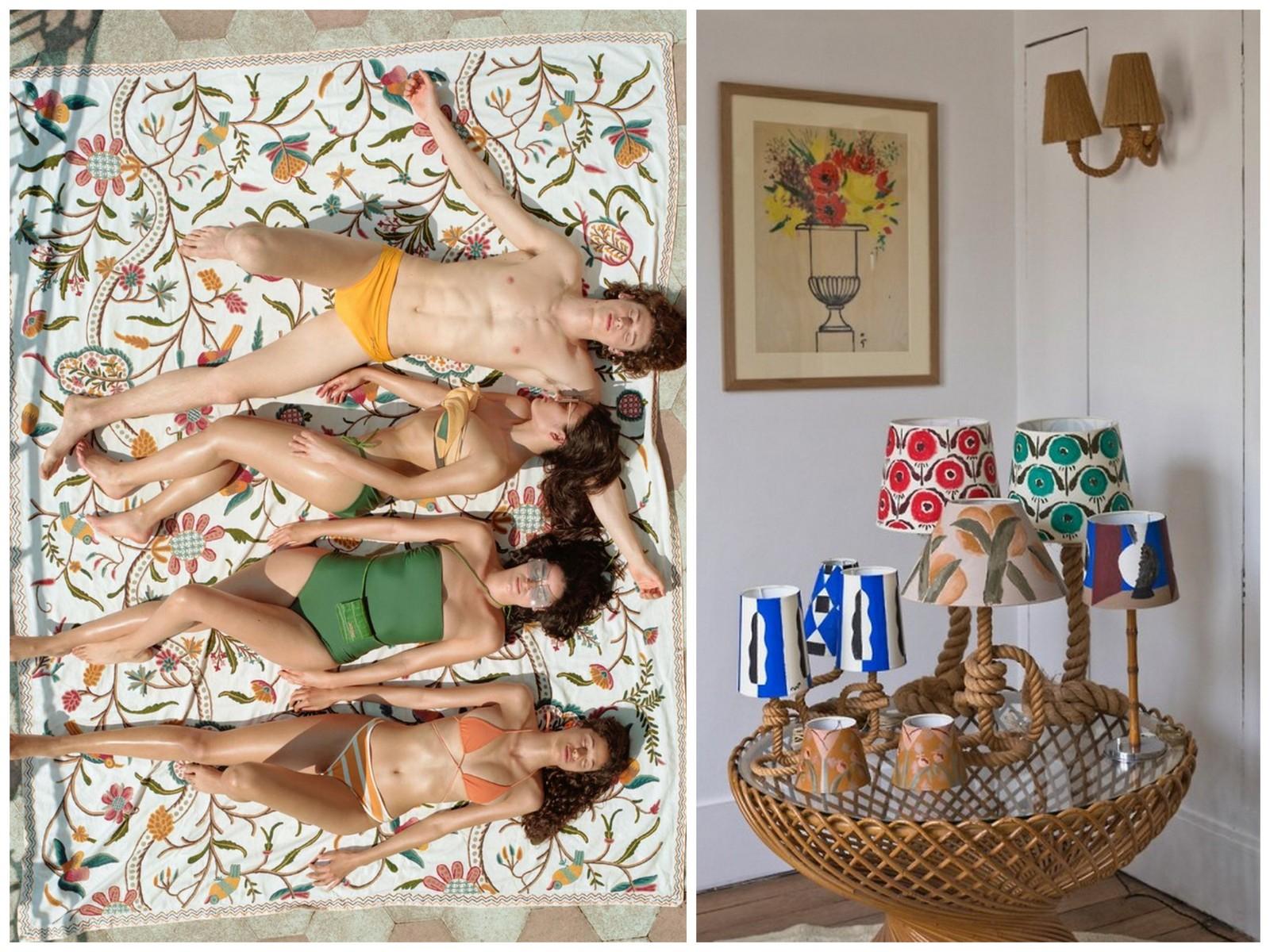jeanne signoles,l'uniform,l'ensoleille,moodboard,inspiration,costra brava,espagne,méditerranée,serge castels,jacquemus,jaune,soleil,mer,céramiques,calanques,bleu,mobilier,vintage,années 70