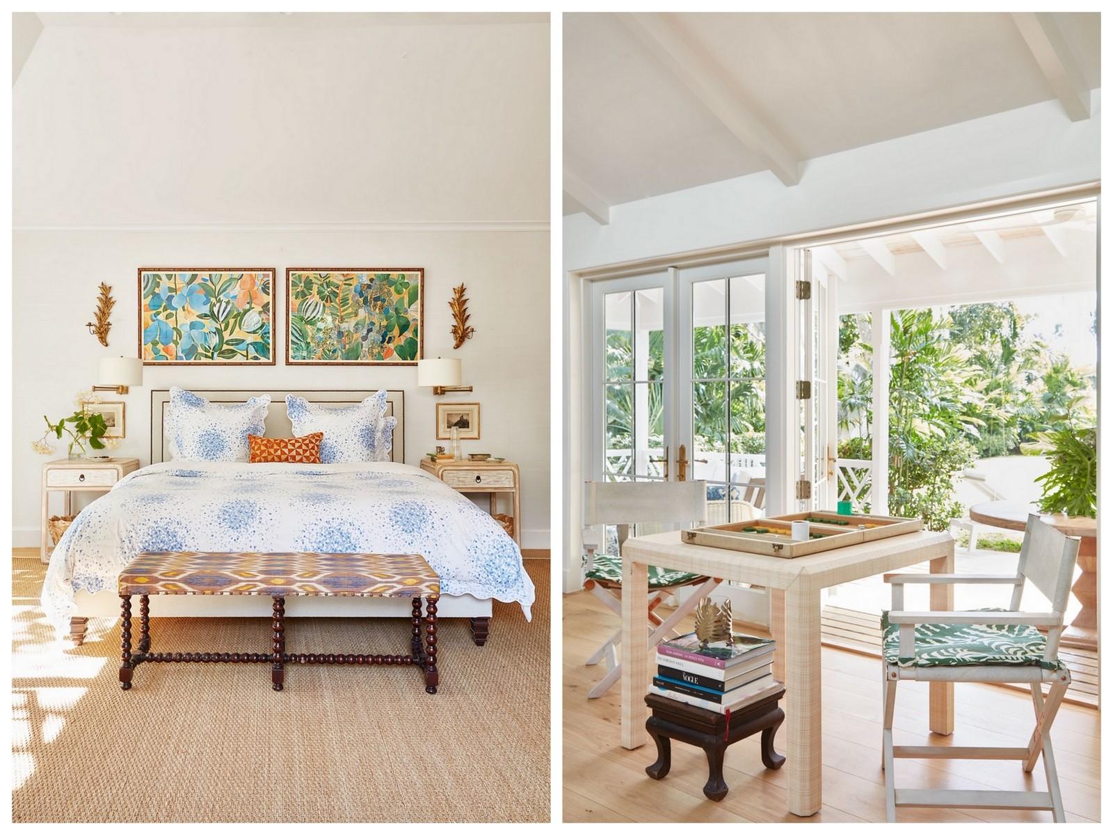 bungalow,beach shack,tropical style,lulu de kwiatkowski,lulu dk,peintre,artiste,illustration,bahamas,déco,décoration,architectural digest,ad,