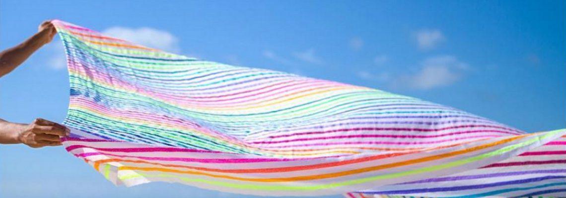las bayadas,supérette,eshop,france,a beachy life,sunrise never ends,online,las bayadas online,mexique,sayulita,beach towel,beach blanket,rainbow,colors,la plage, drap de plage, serviette de bain