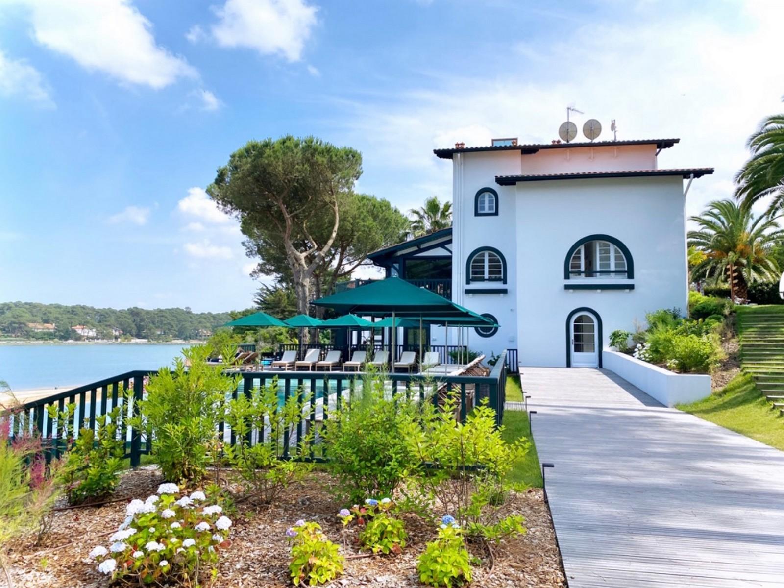 les hortensias du lac,hossegor,hôtel,restaurant,spa,relais et châteaux,escape,travel,landes,france