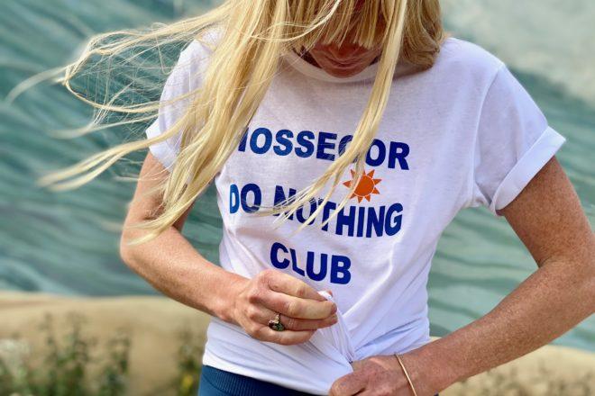 Hossegordonothingclub,hossegor,Sidney,freebirdyoga,teeshirt,hossegor