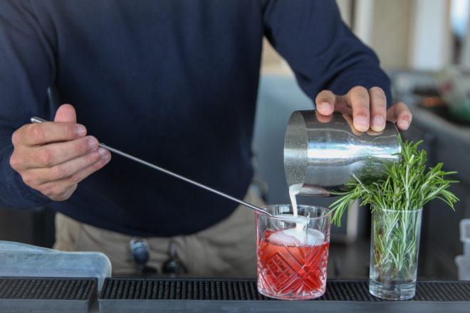 Cocktail,Negroni provençal,provencaou Negroni,hotel,hotel la minèrent plage,la croix valmer
